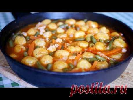 ЗА 20 минут ВКУСНЕЙШИЙ УЖИН ГОТОВ. На сковороде вкусное блюдо из курицы - YouTube