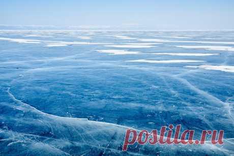 Байкальский лёд с эпитетами. - Nota Bene