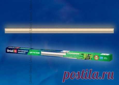 Светодиодная лампа для растений Uniel LED-A60-9W/SP/E27/CL ALM01WH — купить в интернет-магазине ОНЛАЙН ТРЕЙД.РУ