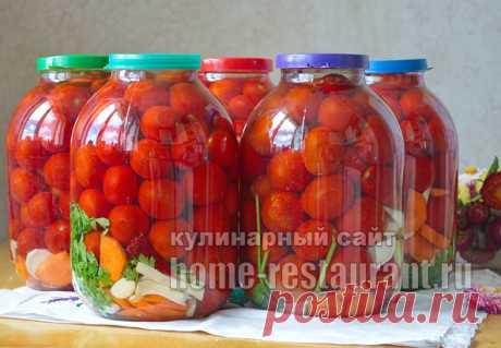 Соленые помидоры на зиму в банках холодным способом