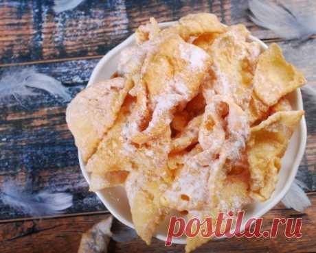 Печенье Хворост: ТОП-5 рецептов