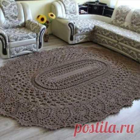Шикарный коврик - Все своими руками