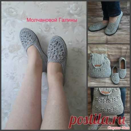 . Обувь для лета - Вязание - Страна Мам