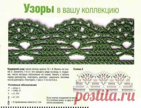 22 карточки в коллекции «Кайма крючком.» пользователя Людмила Ф. в Яндекс.Коллекциях