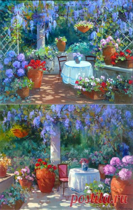 La pintura Maria Serafina solar - la Feria de los Maestros - la labor a mano, handmade