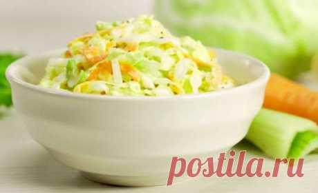 """Салат из капусты """"Коул слоу"""" - пошаговый рецепт с фото и видео от Всегда Вкусно!"""