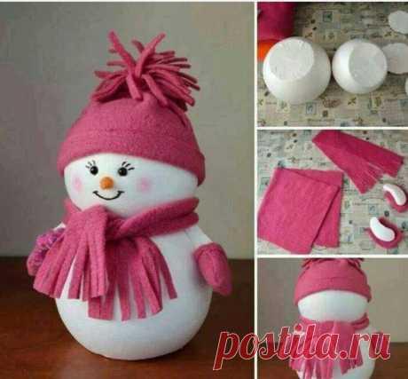 Множество идей снеговиков — Сделай сам, идеи для творчества - DIY Ideas