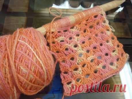 Уникальная техника вязания из далекого Перу