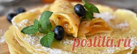 Сладкие и несладкие начинки для блинов – самые вкусные простые рецепты