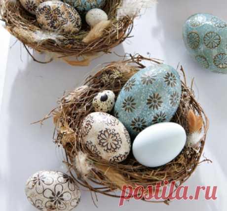 Как украсить пасхальные яйца: новые, интересные, необычные способы