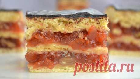 Пирог с вареньем - самый удивительный и вкусный пирог с самого детства