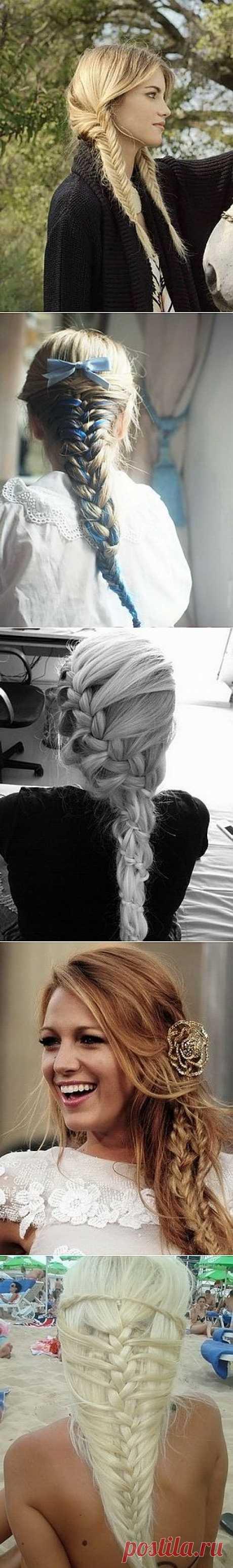 Несколько красивых кос / Прически / Модный сайт о стильной переделке одежды и интерьера