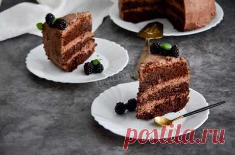 Шоколадный торт в мультиварке рецепт с фото пошагово и видео - 1000.menu