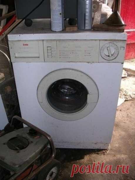 Сломалась стиральная машинка? - полезные советы