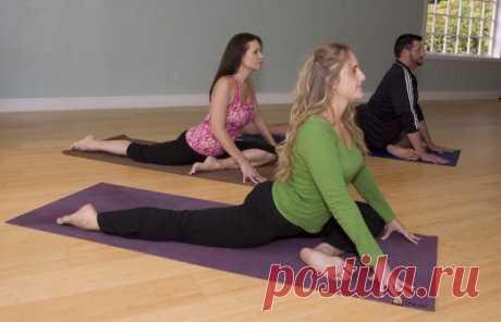 (+1) тема - 5 упражнений, которые помогут избежать травм в спине и коленях   ВСЕГДА В ФОРМЕ!