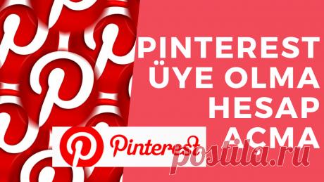 Pinterest Üye Olma Hesap Açma 2020 Pinterest,yemek yapma tarifleri,ev ofis fikirleri,nasıl yapılır,stil ilhamları ve daha fazlasını bulmada kullanılan bir görsel keşif sosyal medya sitesidir.Ayrıca blog trafiğini büyütmenin ve okuyucu kazanmanın,para kazanmanın ve blog topluluklarını büyütmenin yollarını arayanlar için bulunmaz bir sosyal medya sitesidir.#pinterest,#pinterestüyeolma,#pinterestüyelik ,#pinteresthesabınasılaçılır,