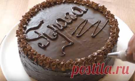 Сочный шоколадный торт Прага по классическому домашнему рецепту от моей бабушки