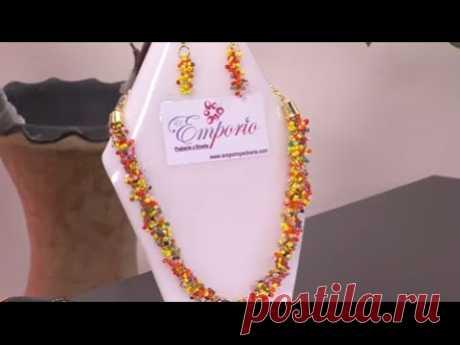6d0c6d11d7a2 Como hacer un collar tropical - Hogar Tv por Juan Gonzalo Angel
