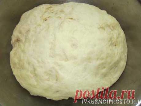 Сдобное дрожжевое тесто - пошаговый рецепт с фото | И вкусно и просто