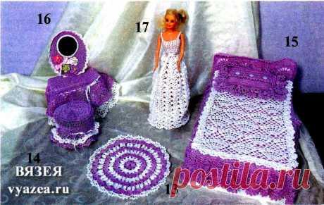 Одежда для Барби крючком схемы и описание