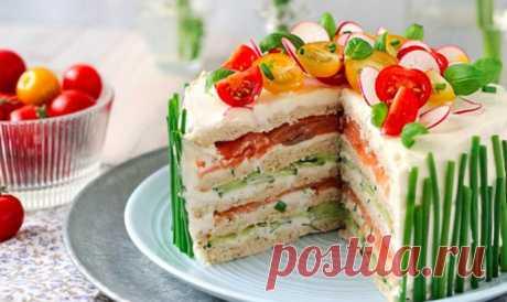 Простой Рецепт пирог-сэндвича пошагово с фото  Для приготовления такого великолепного блюда, тут же создающего летнее настроение, вам понадобятся достаточно простые продукты.