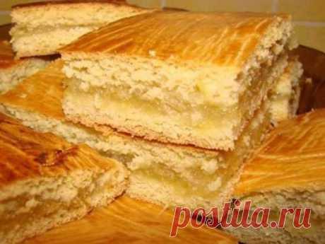 Одноклассники    Песочный пирог с лимонной начинкой можно приготовить очень быстро