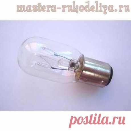 Мастер-класс: Замена лампочки в швейной машине