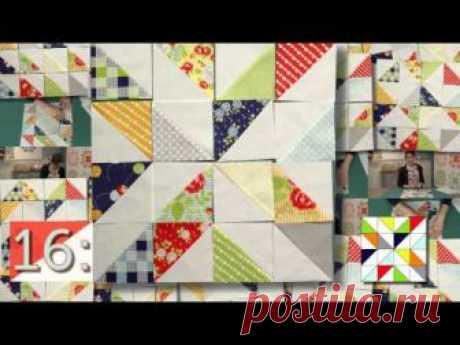 25 блоков для пэчворка из треугольников | МАСТЕР-КЛАССЫ | Пэчворк • Квилтинг • Лоскутное шитье | Пэчворк • идеи