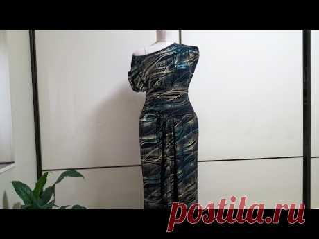 Платье Русалка - вечернее эффектное платье