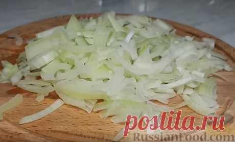 Рецепт: Салат из фунчозы с овощами на RussianFood.com