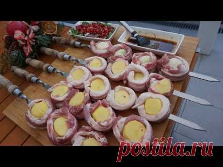 2 in 1 Potato BBQ I Новый армянский шашлык- 2 в 1. Рецепт от Жоржа