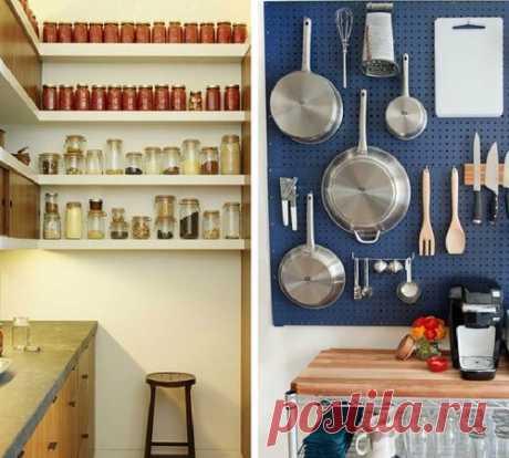 10 очень практичных и стильных решений для маленькой кухни