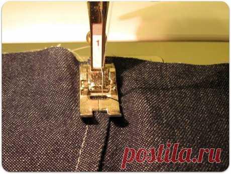 Как сделать красивый джинсовый шов. Мастер-класс