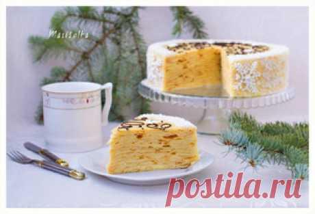Слоеный торт с заварным кремом пошаговый рецепт с фотографиями