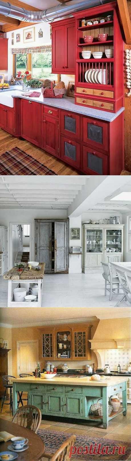 Кухни в деревенском стиле   МОЙ ДОМ