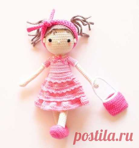Куколка Софи - фото вязаной игрушки 750x800