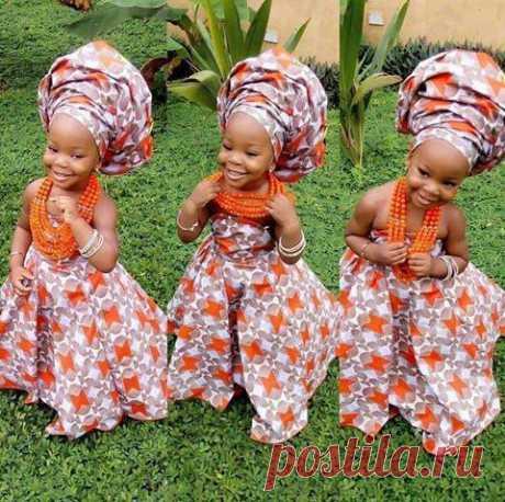Красота,она и в Африке - красота...