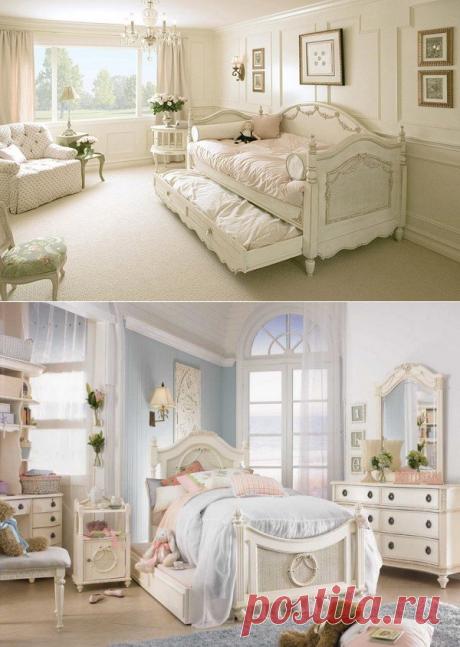 Подборка спален в стиле Шебби Шик