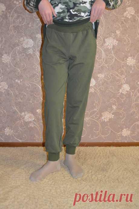 Мастер-класс: спортивные брюки с карманами | Шкатулка
