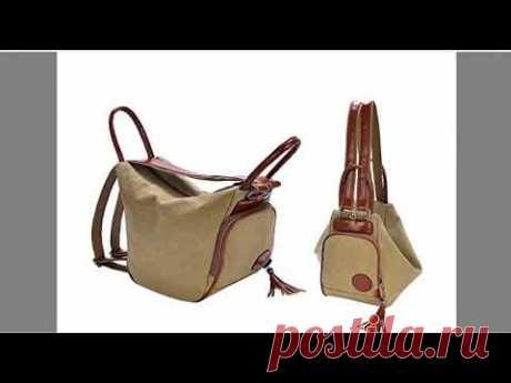 №2 Видео обзор по деталям выкройки сумки рюкзака №23