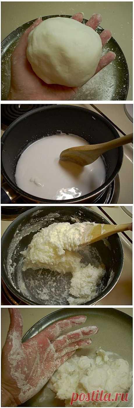 Как сделать холодный фарфор своими руками | Самоделкино