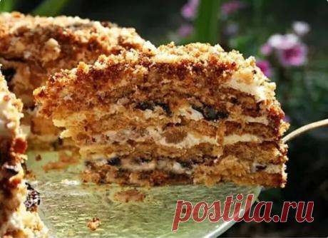 Простой в приготовлении торт с потрясающим вкусом: рецепт для самых ленивых хозяек Простой в приготовлении, но очень вкусный торт!
