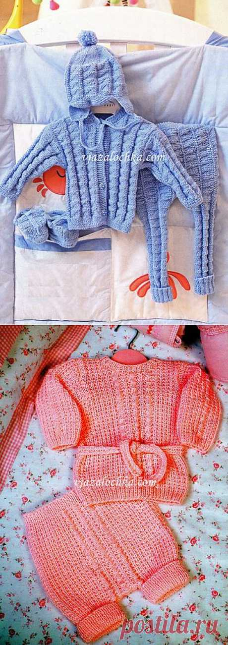 Вязание для малышей. 10 лучших моделей. | Азбука Рукоделия