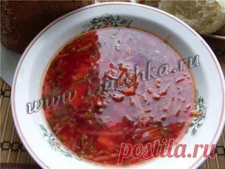Borsch with eggplants | recipes on Saechka.Ru