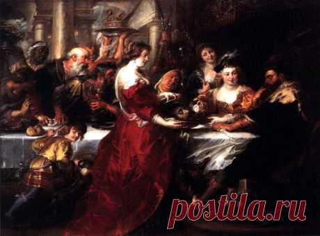 Пир Ирода - 1633. Питер Пауль Рубенс. Описание картины, скачать репродукцию.