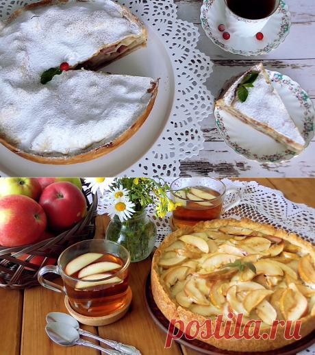 Эх, Яблочки! Вкусная подборка рецептов с яблоками! ТОП лучших!