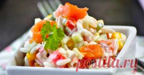 Если вы настоящая хозяюшка, то рецепт этого салата, обязательно должен быть в вашей записной книжке | DiDinfo | Яндекс Дзен