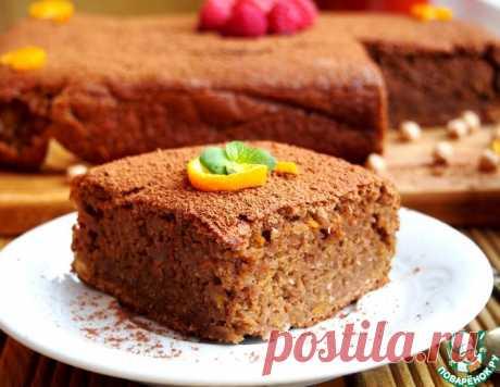 Шоколадный пирог из нута – кулинарный рецепт