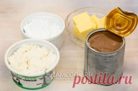 Творожный крем с вареной сгущенкой — рецепт с фото пошагово