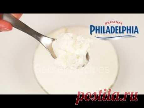 Крем сыр за 15 минут из 2 ингредиентов. Дешевый способ | Cream cheese